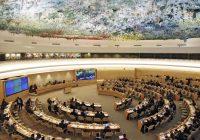 Le Conseil des Nations-Unies pour les droits de l'homme adopte  deux résolutions