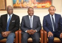 CAF : Ahmad et Omari chez Dangote