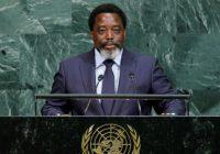ONU : Kabila rejette toute ingérence extérieure dans le processus électoral congolais