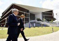 Didier Reynders inaugure l'ambassade de Belgique et des Pays Bas à Kinshasa