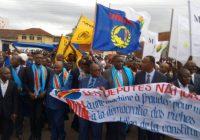 RDC : Marche des députés de l'opposition pour contester le projet de loi électorale