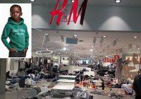 Des magasins de la marque H&M saccagés en Afrique du Sud
