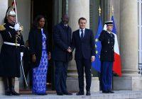 France-Libéria : le président George Weah à l'Elysée