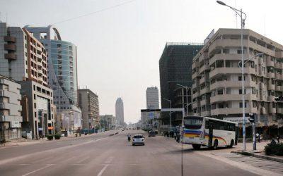 Kinshasa au rythme d'une ville demi-morte