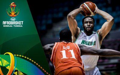 Afrobasket 2017: Quarts de finale jeudi à Tunis