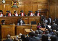 Kenya : le premier pays africain qui annule la présidentielle