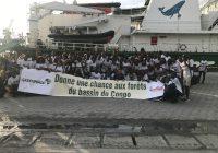 Greenpeace pour la protection du Bassin du Congo