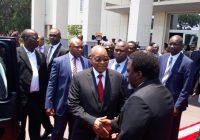 RDC-RSA : Kabila et Zuma pour un processus électoral apaisé au Congo-Kinshasa