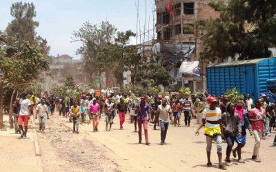 RDC : Bukavu dans la rue!