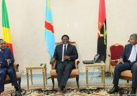 Les présidents Sassou, Lourenco et Kabila appellent aux élections apaisées en RDC