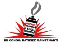 La RDC appelée à ratifier le traité d'interdiction des armes à sous-munitions