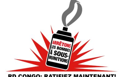 La RDC appelée à ratifier le traité d'interdiction des armes à sous-munitions